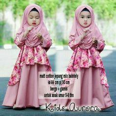 19 Best Gamis Syari Anak Images Day Dresses Dress Dresses