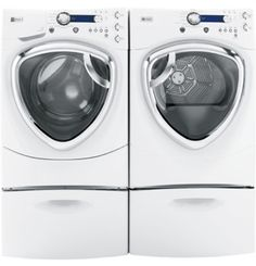 This week only, enter to WIN a GE Profile™ Frontload Washer with Steam and SmartDispense technology and companion dryer!!!