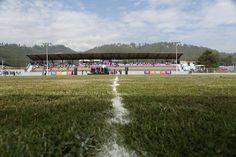 La alegría envolvió a la gente de Llano Chico al realizarse el acto inaugural del renovado estadio de Gualo. Anhelaban