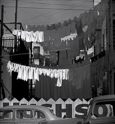 Fred Lyon - Washing