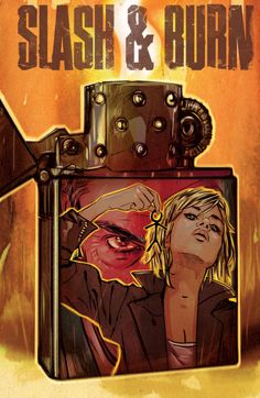 SLASH & BURN #6 cover by Tula Lotay.