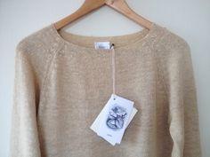 Raw #TussahSilk sweaters. #Knits #sustainable #ethicallymade #naturalfibers #minimalist #fashion    https://www.facebook.com/estudiotinto/?fref=ts
