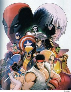 Marvel vs. Capcom 3 by Shinkiro