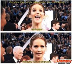 funny quotes from jenifer lawrence Funny Picture
