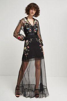 06c8443d46 Saya Stitch Maxi Dress Sheer Maxi Dress, Floral Print Maxi Dress, Floral Maxi  Dress