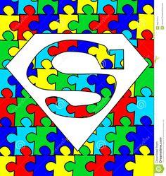 superman autism logo - Recherche Google