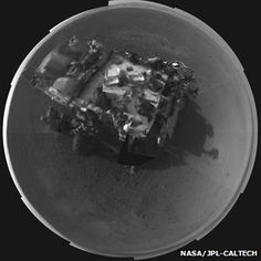 Curiosity rover's Self Portrait on Mars made by the Navcams