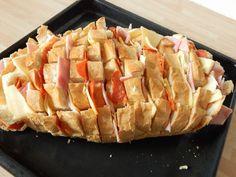 Töltött kenyér recept lépés 4 foto
