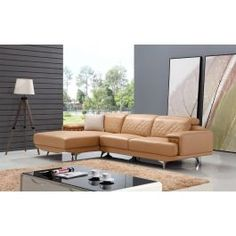 * Modern Style* Divani Casa Collection Luxury Living, Outdoor Furniture, Outdoor Decor, Leather Sectional, Sectional Sofa, Couch, Modern, Design, Home Decor