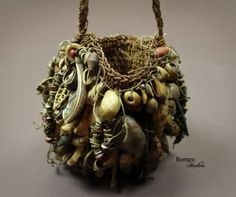 artpropelled: Old Bilum Bag Papua New Guinea