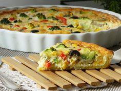 The cooking doctor: Quiche Tutorial (Vegetarian recipe). Vegetarische Quiche.