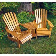 Build a YellaWood Double Adirondack Chair - Free Project Plan ...