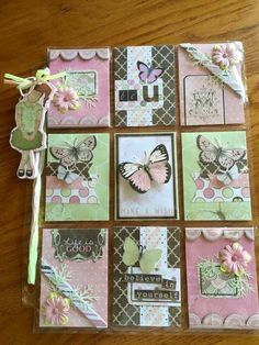 Pocket Pal, Pocket Cards, Atc Cards, Journal Cards, Pocket Scrapbooking, Scrapbook Cards, Project Life Cards, Candy Cards, Pocket Letters