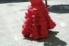 Tipos de falda que se pueden confeccionar en los trajes de flamenca