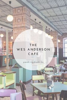 Wes Anderson's lovely cafe in Milan – Bar Luce.