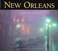 New Orleans Impressions. Alex Demyan is able to capture in images the sensual qualities of the Crescent City: spicy Cajun-Creole soul food; aromatic Southern gardens; blues, gospel, ragtime, zydeco, and jazz music; and sights and sensations of the Mardis Gras parades. He creates moody images of low-lit rain-drenched streets and contemplative, artsy shots of people, and he also photographs bright, broad panoramics of cityscapes and fiery sunsets.