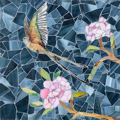 Chinoiserie Sea Glass™ Mosaic | New Ravenna