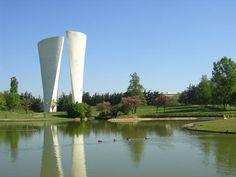 Parc Jean Perdrix Valence, Rhone, France, Spaces, Alps, Partridge, Auvergne, Landscape Planner, French