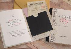Storybook - Wedding Invitation. $10.00, via Etsy.