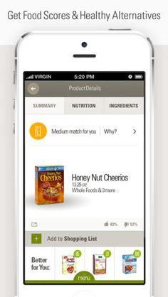 """ShopWell"" (app) iPhone Screenshot"