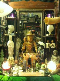 Altars:  Kwan-Yin Altar.