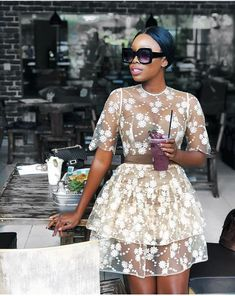 I got loads of DM's about this dress , I bought it from a thrift store on the streets of Milan for and the lady said it is a dress from… Black Girl Fashion, Fashion Looks, Womens Fashion, Classy Outfits, Stylish Outfits, Look Girl, Dinner Outfits, Festa Party, Mode Style