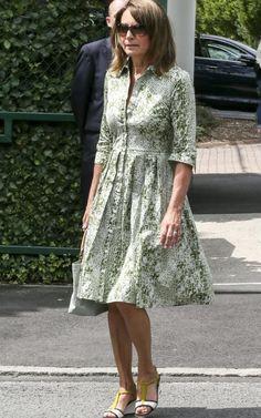 6a4c6e16854 Carole Middleton Wimbledon Tennis Kate Middleton Family
