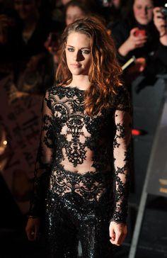 Kristen Stewart at the Premiere of Twilight Saga: Breaking Dawn- Part 2 in London