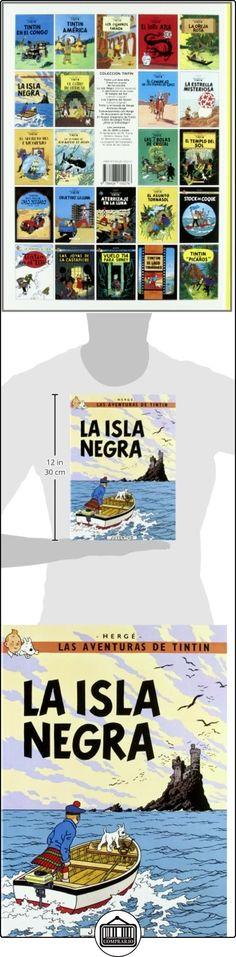 C- La isla Negra (LAS AVENTURAS DE TINTIN CARTONE) HERGE-TINTIN CARTONE I ✿ Libros infantiles y juveniles - (De 3 a 6 años) ✿