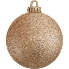 GLITTER BAUBLES - ROSE GOLD | DZD