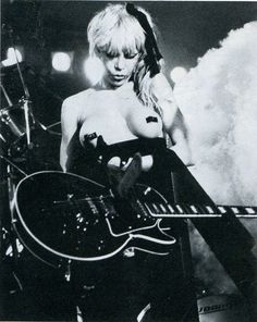 Wendy O. Williams...I fucking loved her!  RIP wild one!!!!