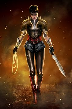 A fantastic Wonder Woman!     Wonder Woman redesign by deviant art user Razzah
