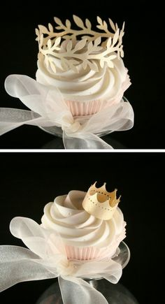 Edible Cupcake decorations by Anibelle