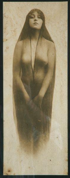 Photograph taken in Tombstone, Arizona of 19-year-old Josephine Sarah Marcus Earp,