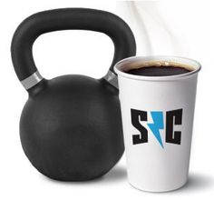 Kettle bell and coffee