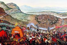 The Battle of Vienna in 1683 broke the advance of the Ottoman Empire into Europe. Battle Of Vienna, Fall Of Constantinople, Turkish Army, Christian World, Imperial Army, Holy Roman Empire, Historical Art, Ottoman Empire, Panzer