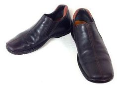 Cole Haan Shoes Leather Black Athletic Slip on Casual Loafers Mens 10 5 M   eBay