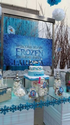 Frozen cascada de agua Olaf!