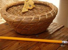 Pine Needle Basket by elkstalker on Etsy
