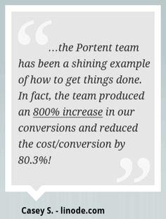Portent pull quote design example