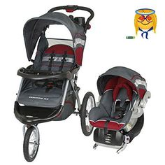 Get ready to roll with the #Baby #Trend Expedition ELX Jogger Travel System - Baltic. This versatile jogging stroller system includes an adaptable infant car seat...