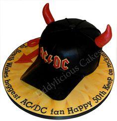 How to make ac dc cake