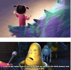 Monsters Inc.!Or as i said when i was younger Moners inc.!:)