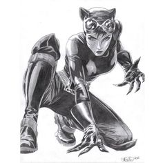 Catwoman by Nicolemarielenz ❤ liked on Polyvore featuring dc