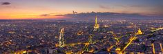 Panoramic view of Paris and La Défense, Paris, France par David Briard