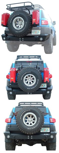 LoD FJ Cruiser Rear Bumper w/ Swing-out Tire Carrier LoD FJ Cruiser Rear Bumper w/Swing-out Tire Carrier Made in The USA [16164] - $1,398.00 : Pure FJ Cruiser Accessories, Parts and Accessories for your Toyota FJ Cruiser