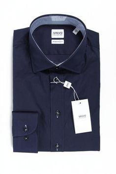 Color: Dark Blue Size: 43 IT – 17 US Made of: 100% COTTON Details: TCCM8T TCC90 920 – Color: Dark Blue – Composition: 100% COTTON – Made: TUNISIA – Botton Closure – Long Sleeve Dark Blue, Shirt Dress, Composition, Mens Tops, Cotton, Shirts, Closure, Long Sleeve, Fashion