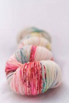 Hand-dyed yarn sock yarn superwash merino speckles