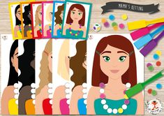 Can You Help, Disney Characters, Fictional Characters, Mom, Disney Princess, Cards, Beautiful, Color, Colour
