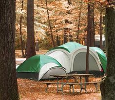 Camping is one of the best ways to get out in nature!